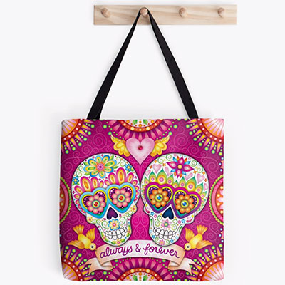 Colorful Art Tote Bags by Thaneeya McArdle