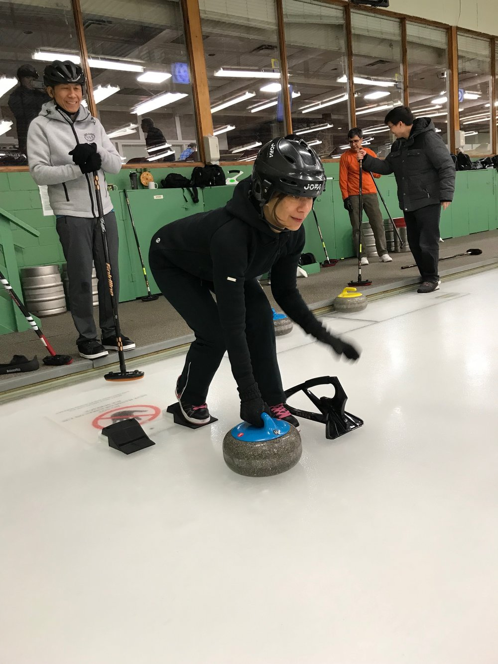 Pi's Curling Match