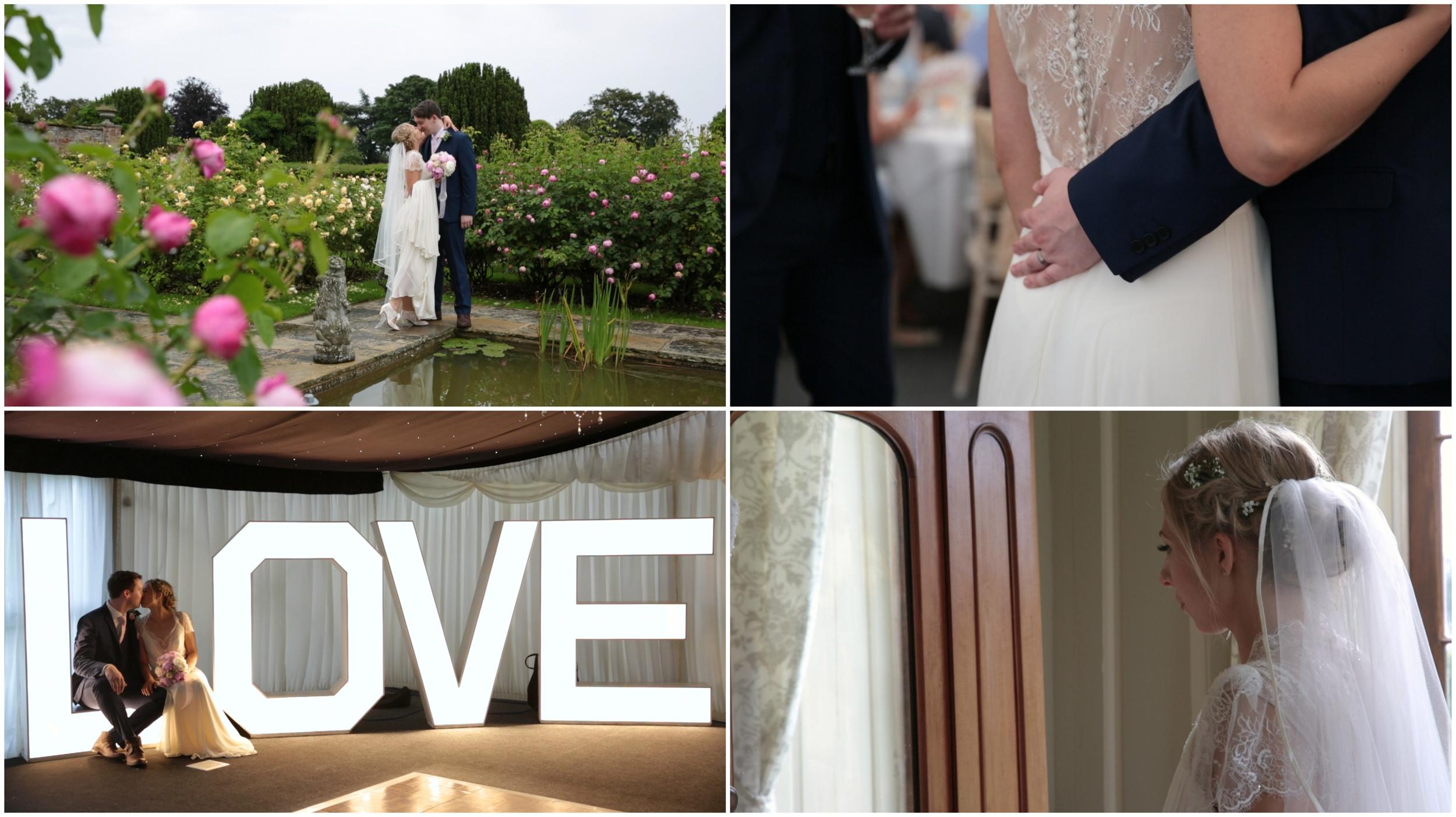 Glenham Hall Wedding