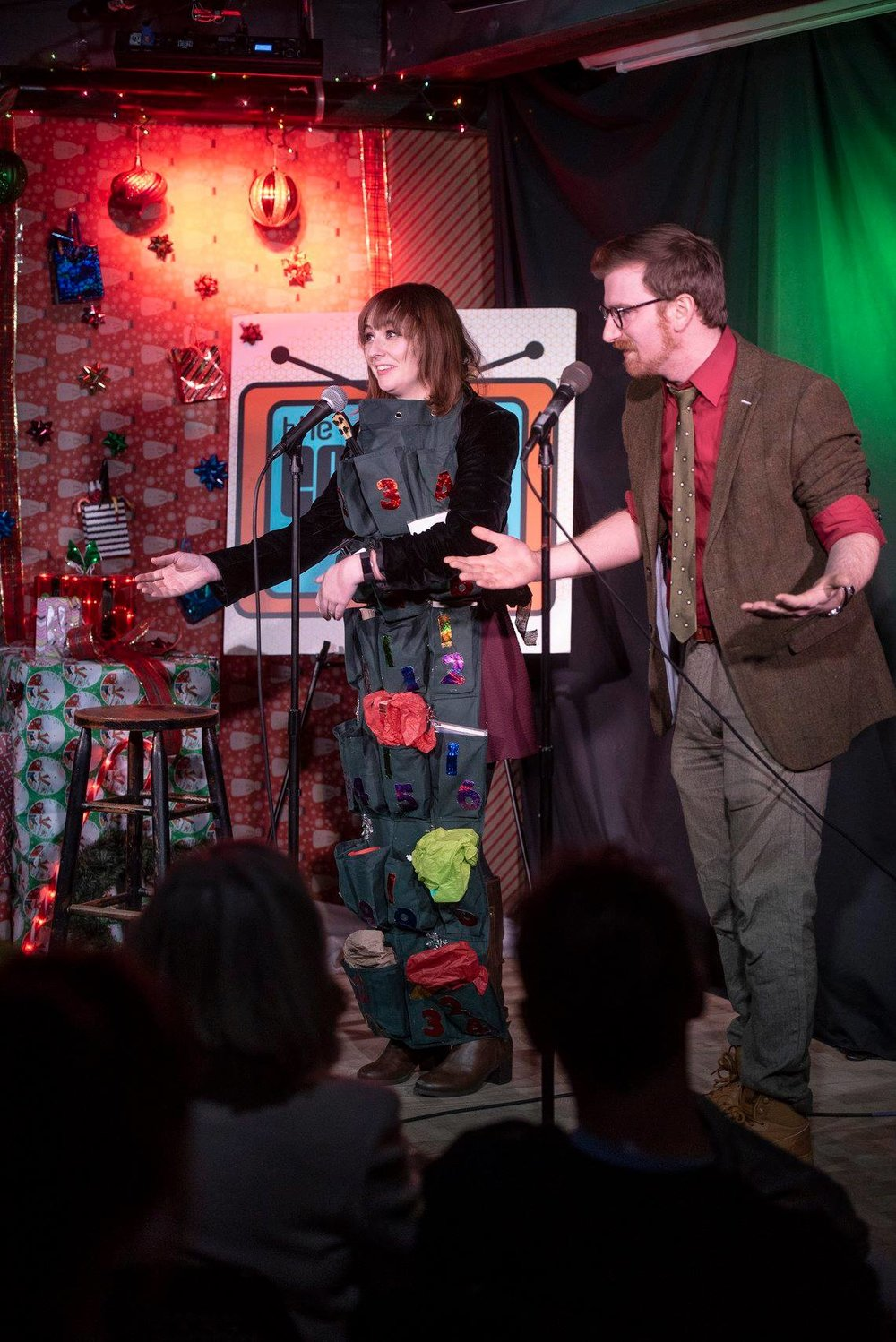 Being an Advent Calendar with Nick Ortolani at The Comedy Studio's annual Holiday Show