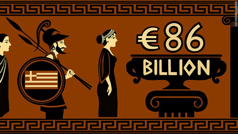 Greece: Third bailout to start Thursday   CNNMoney
