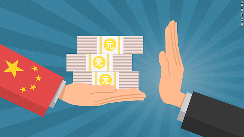 China's global spending spree faces a backlash   CNNMoney