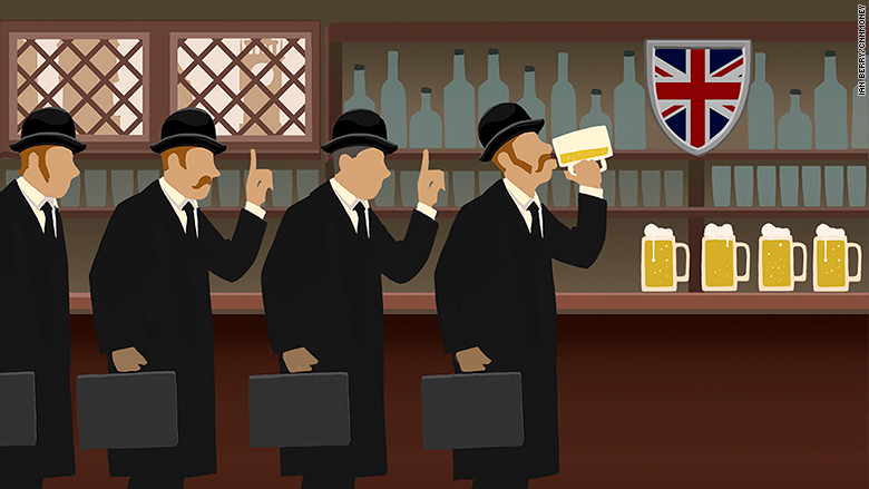 Last Call: Lloyds of London Bans Boozy Lunch CNNMoney