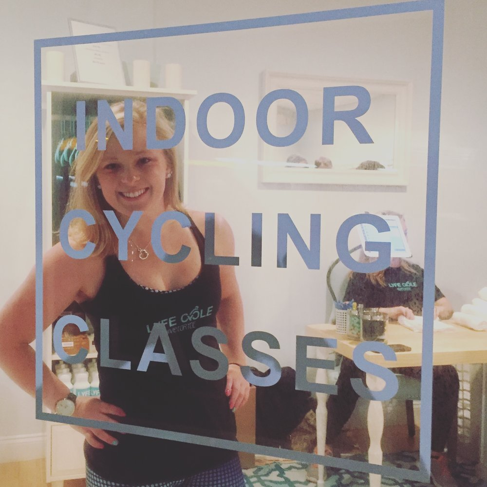 Erica Soma: Owner, Instructor Erica is a 27- year- old Rozzident and has been in the fitness industry for six years as a personal trainer and fitness enthusiast. She holds her BA and MS in Exercise Science from Willamette University and Northeastern University and has various other fitness certifications. She opened LYFE CYCLE with the dream of creating a positive and supportive neighborhood business that offers high quality indoor cycling classes. In her own fitness pursuits she has completed nine marathons and many other road races of different lengths. She participated in many sports growing up including rowing, swimming and volleyball, and was the captain of her varsity rowing team for two years at Willamette University. She also enjoys activities like indoor rock climbing and golf. In the last year (on top of opening LYFE CYCLE), Erica started on her mission to complete an Ironman. She completed her first ever triathlon in June at a small Half Ironman event in New Hampshire and completed her Ironman August of 2016 in Copenhagen, Denmark in a respectable time of 14h 43m! In her classes you'll find a moderate amount of choreography, a physically challenging workout with plenty of level ten hills and sprints, and her unique mix of beats that include top 40's but often showcase new music. Her RYDE is to the beat of the music and the choreography is great for those beginning indoor cycling while also providing a physical challenge for those more advanced RYDERS. She usually includes 1-2 songs with upper body work so you'll definitely leave getting a full body workout. Erica's main goal in her workouts is to make you sweat, and sweat hard, while also having fun and learning technique along the way! Find Her on Facebook, Instagram, Twitter, Spotify:  @Esomafitness