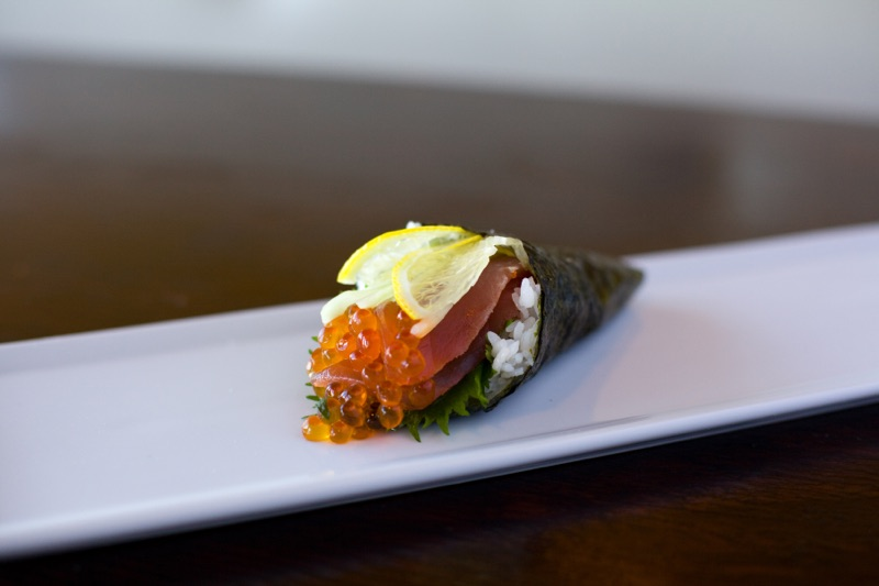 Carpaccio Hand Roll – $7.50