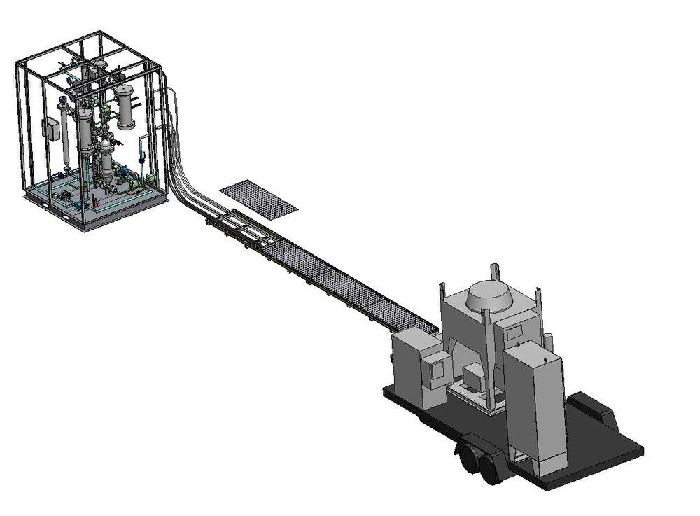 Propellant Distillation Unit
