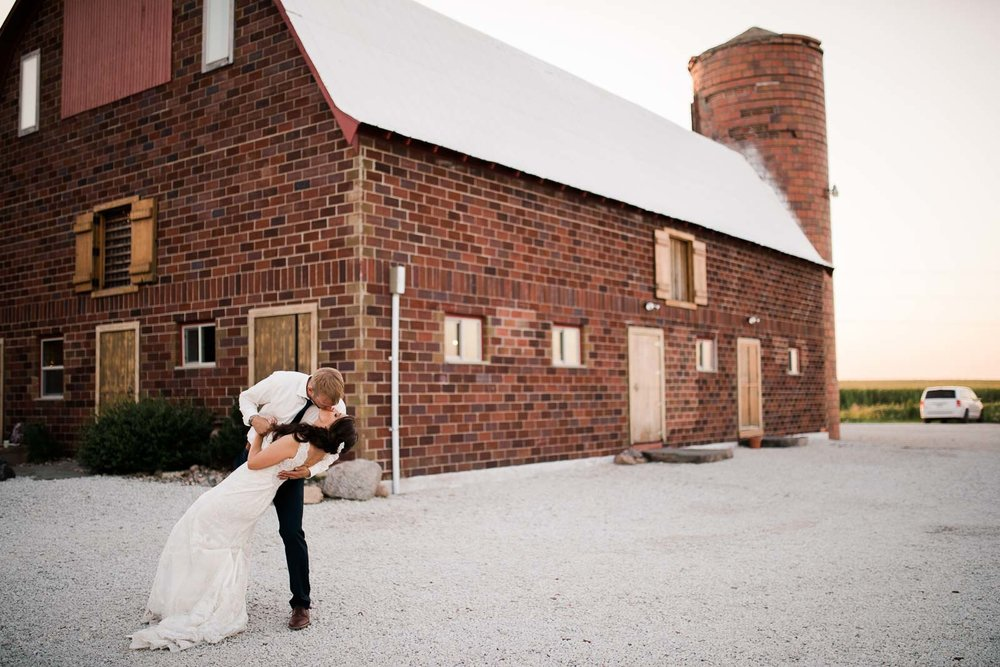 A beautiful Des Moines Wedding