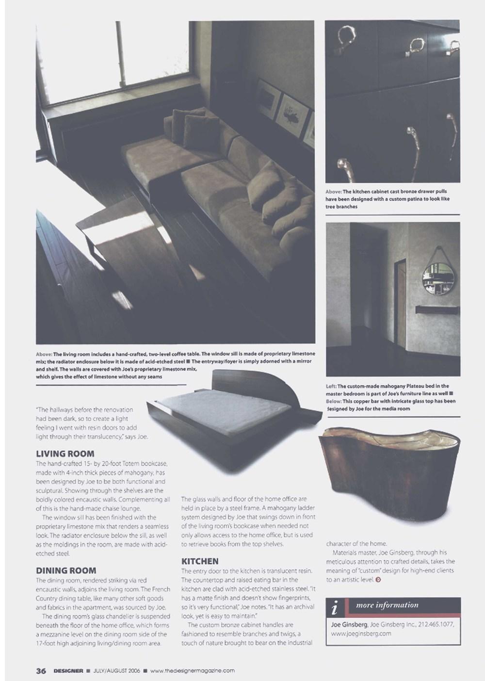 NYC Interior Designer | Joe Ginsberg Design