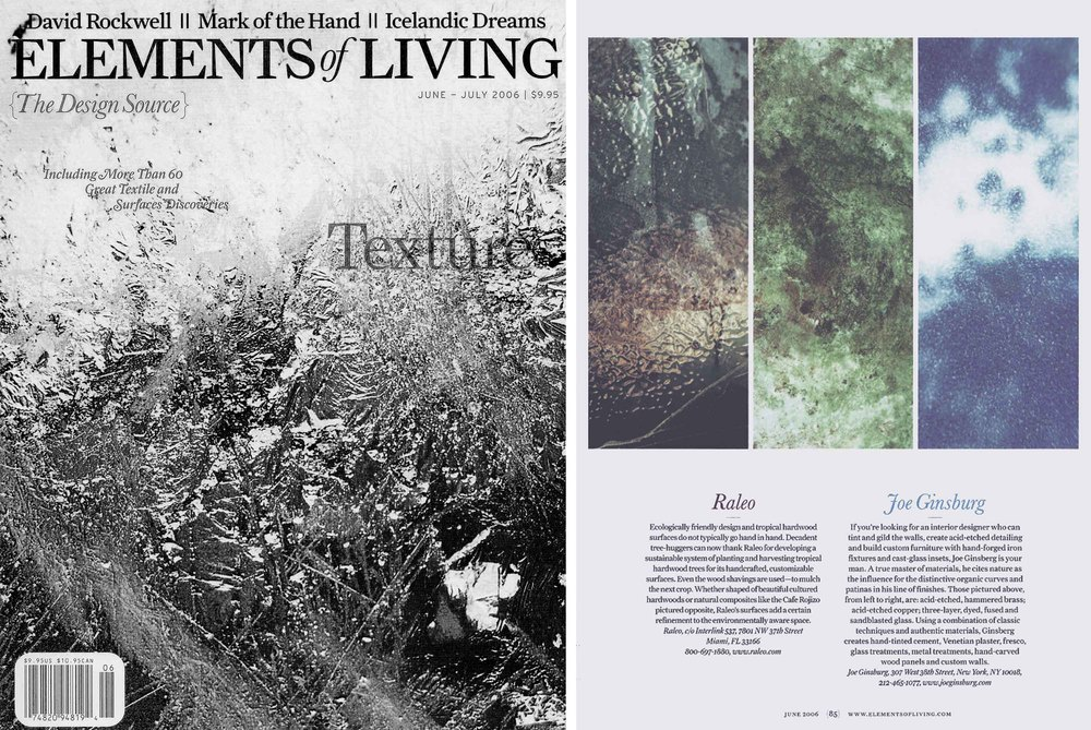 Elements of Living | NY Designer Joe Ginsberg Design