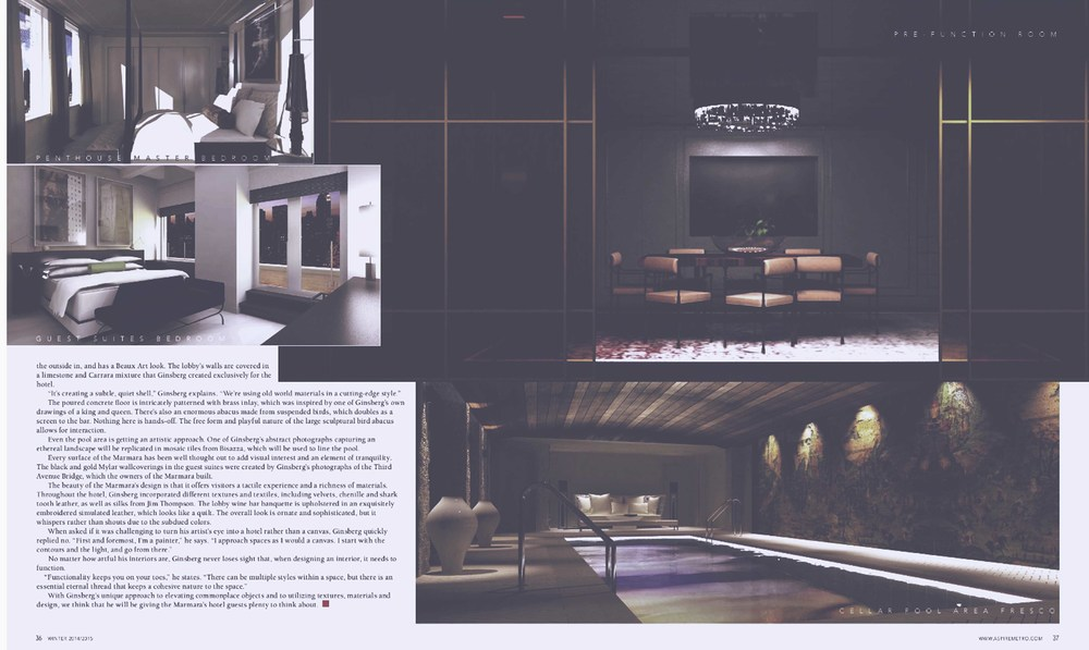 Hotel Design Services in the NYC area | Joe Ginsberg Design