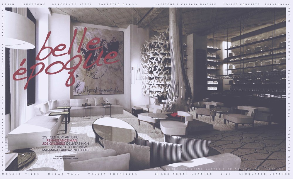 NYC Interior Design Firm for Luxury Hospitality | Joe Ginsberg Design