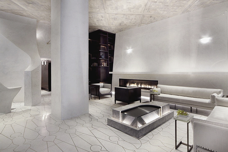 Hotel Lobby Design for this Boutique Hotel
