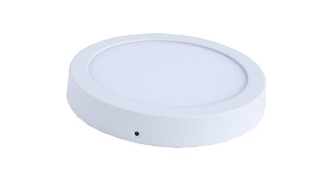 Panel LED redondo 6W sobrepuesto -