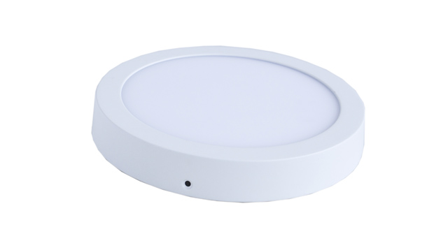 Panel LED redondo 9W sobrepuesto -