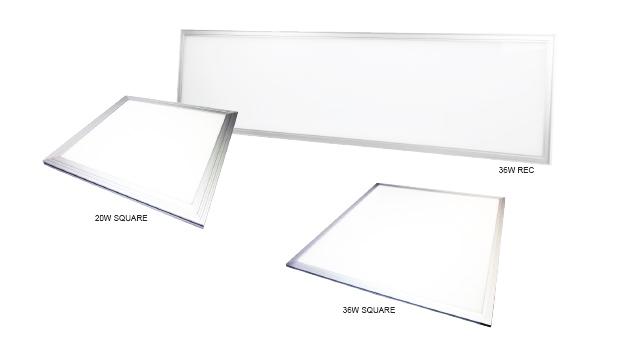 Panel LED flat -