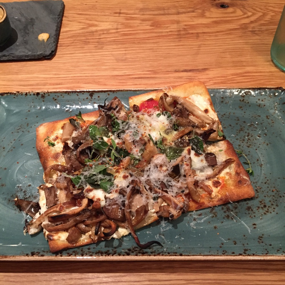 GF Flatbread at Little Beet