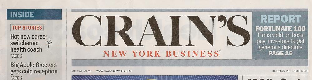 Crain's Headline