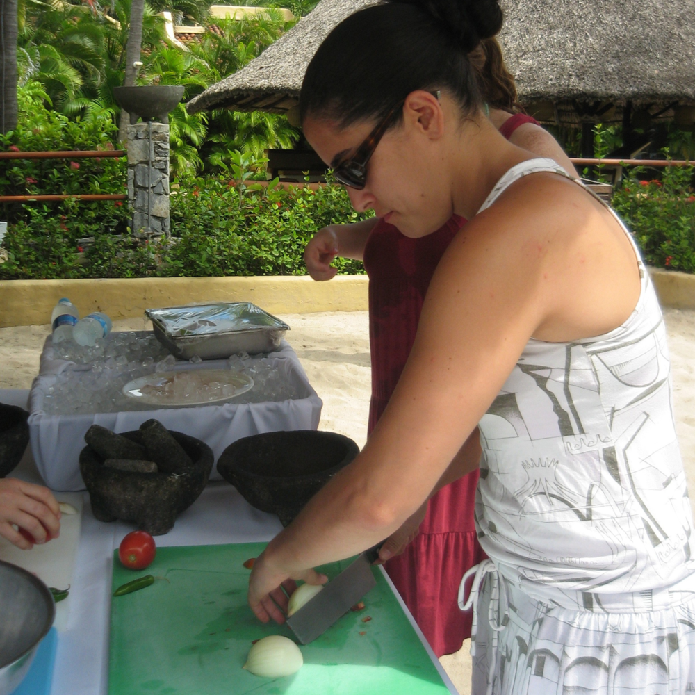 Julia Cooking in Mexico