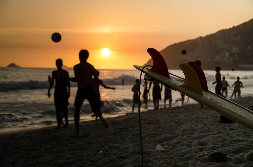 Futebol na praia - Rio de Janeiro