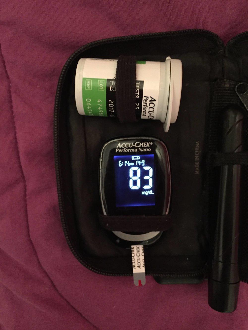 Esse é o aparelho que mede a glicemia!