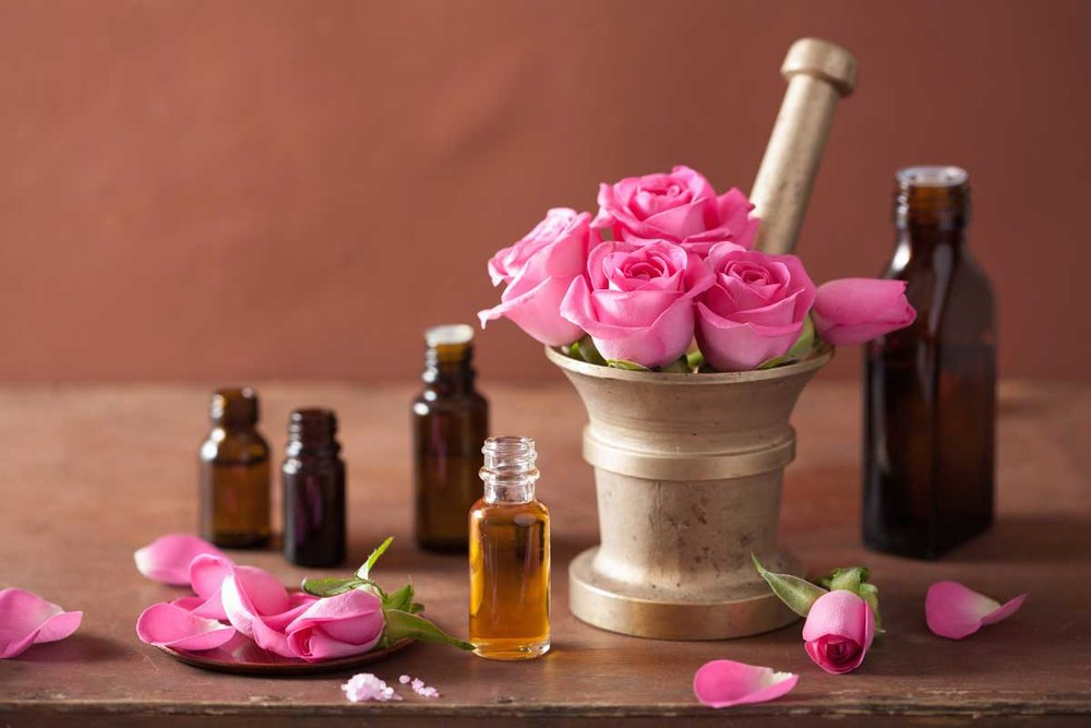 oleo vegetal rosa