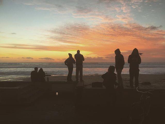 #summer #california #beach #sunrise #sandiego