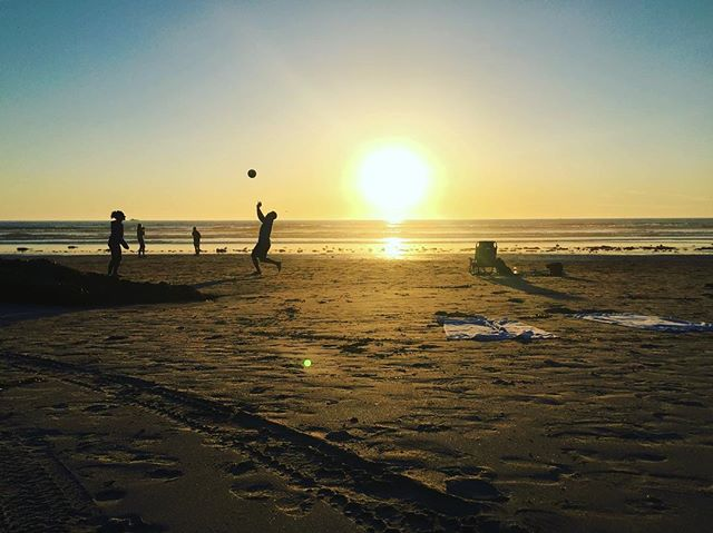 #sunset #california #beach #summer #followthesun #love  #sports