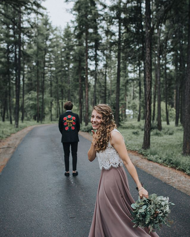 """I get that everyone says that their wedding is the """"best day of my life blah blahhh,"""" but now I GET it. Because mine was. Honestly more perfect than I could have hoped and I'm obsessing over these preview photos @emmaleedean 😍 I love you Nathan Knox."""