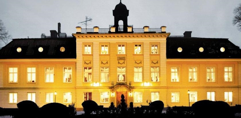 Sodertuna Slott at night.jpg