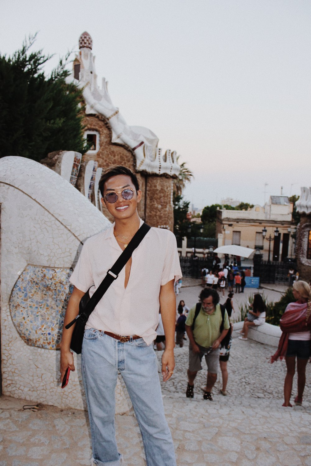 Shirt: Zara, Jeans: Vintage Levi's, Belt: Gucci, Sunglasses: Crap Eyewear (linked above), Bag: Burberry