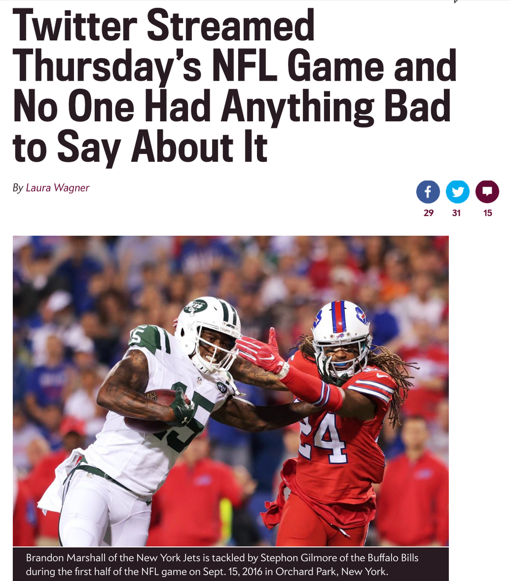8d91a7ab Will Twitter and NFL both win Thursday Night Football games ...
