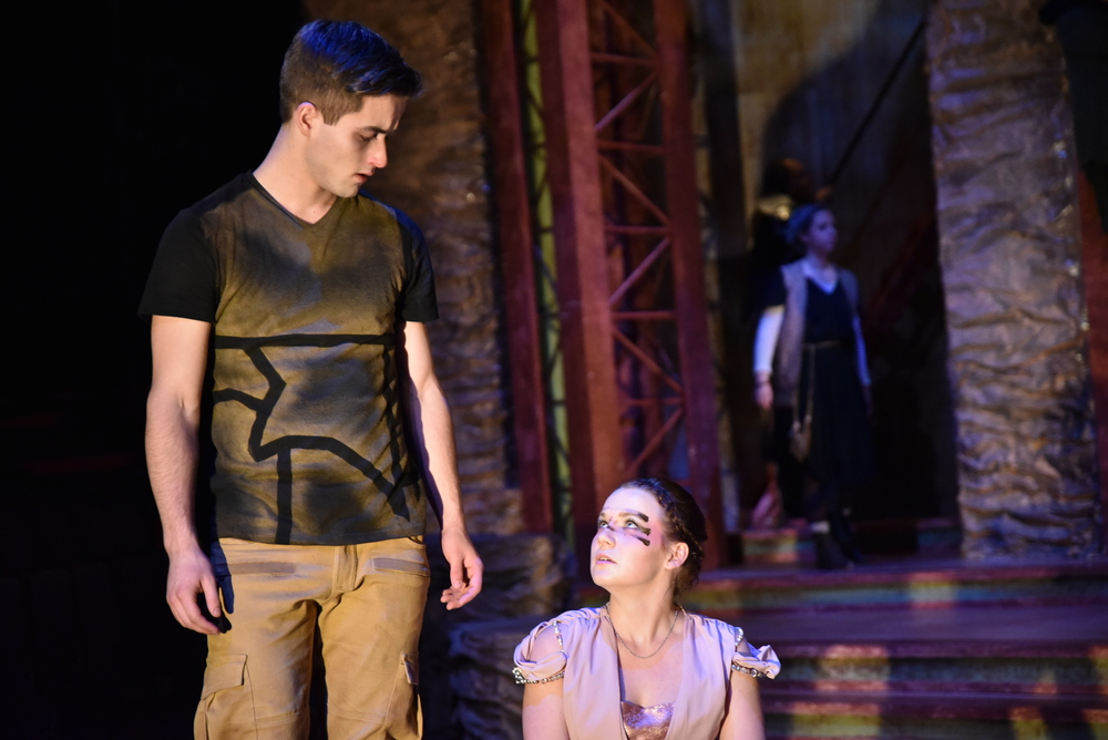 Ryan Claus (Haemon) & Bailey Praeger (Eurydice)  photography by:   Courtney Foxworthy
