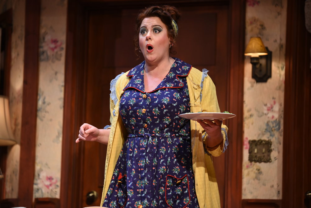 Meaghan Deiter (Dotty Otley / Mrs. Clackett) Photography by Courtney Foxworthy
