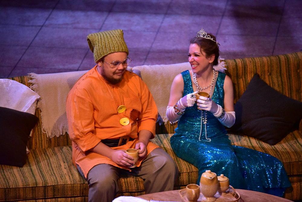 Justino Brokaw and Tara Chiusano Photo by: Courtney Foxworthy
