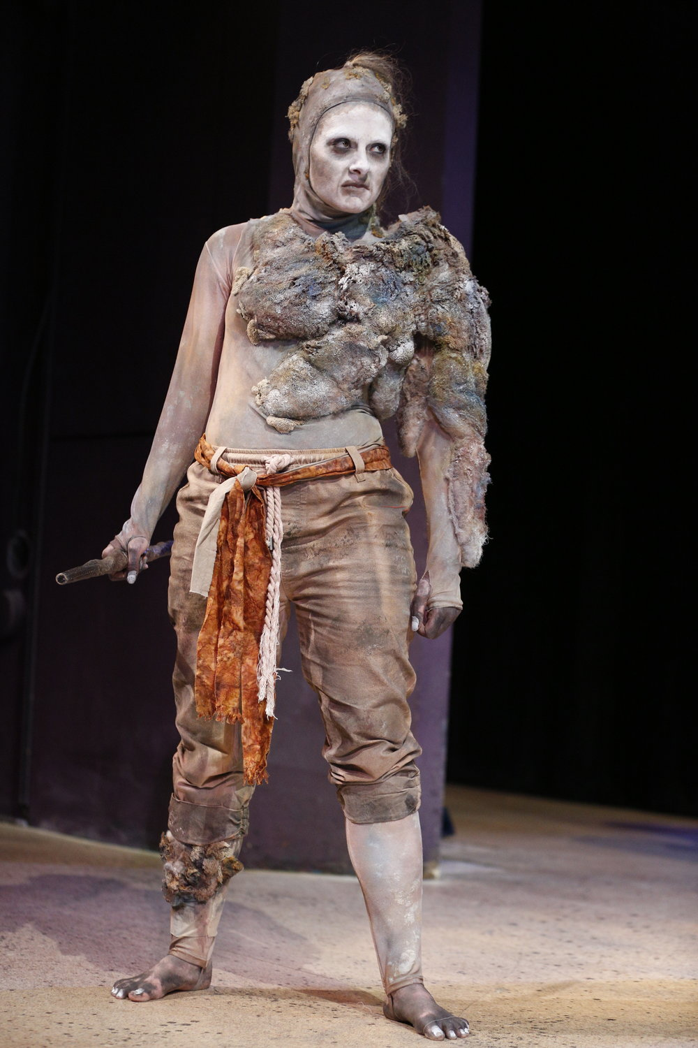 Ashley Dillard as Caliban photo by: Jeremy Hogan
