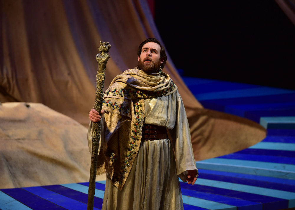 Matthew Murry as Prospero. Photo by: Courtney Foxworthy
