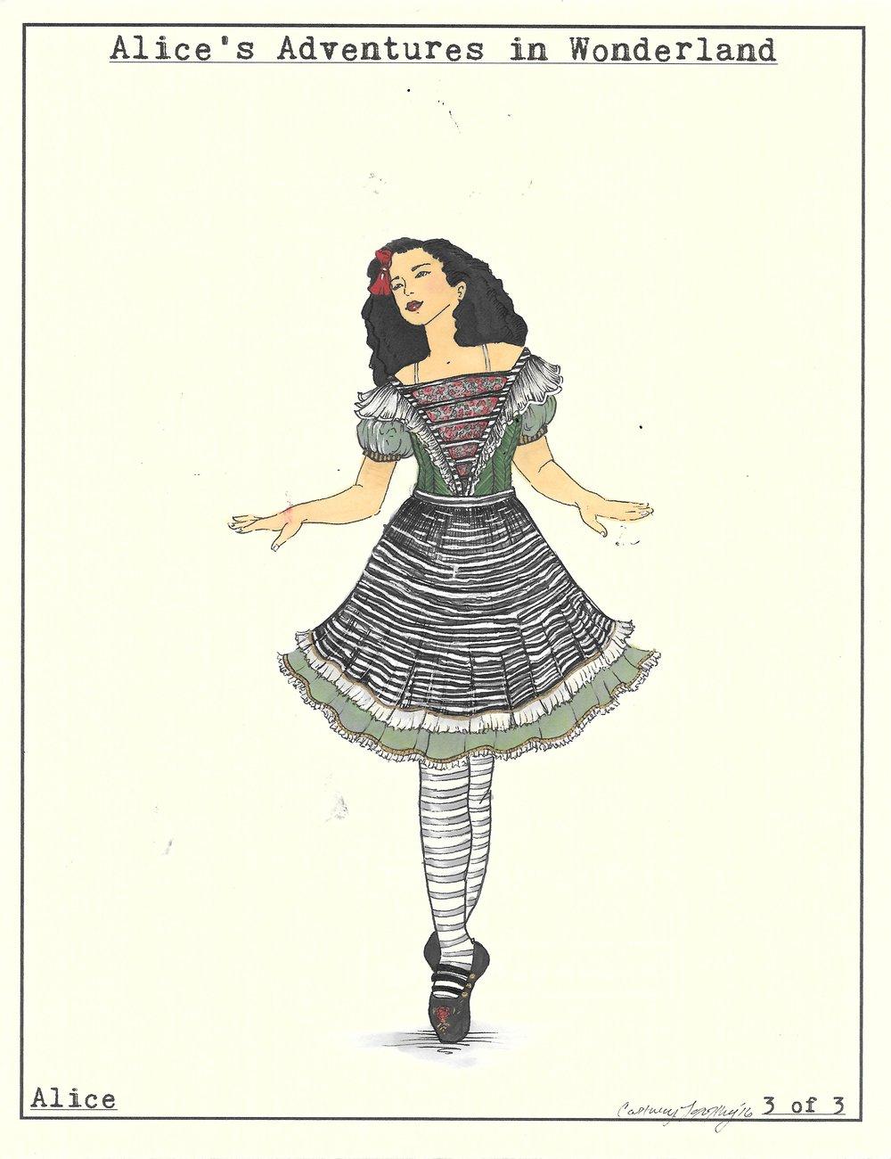 Alice look 3 of 3 Wonderland