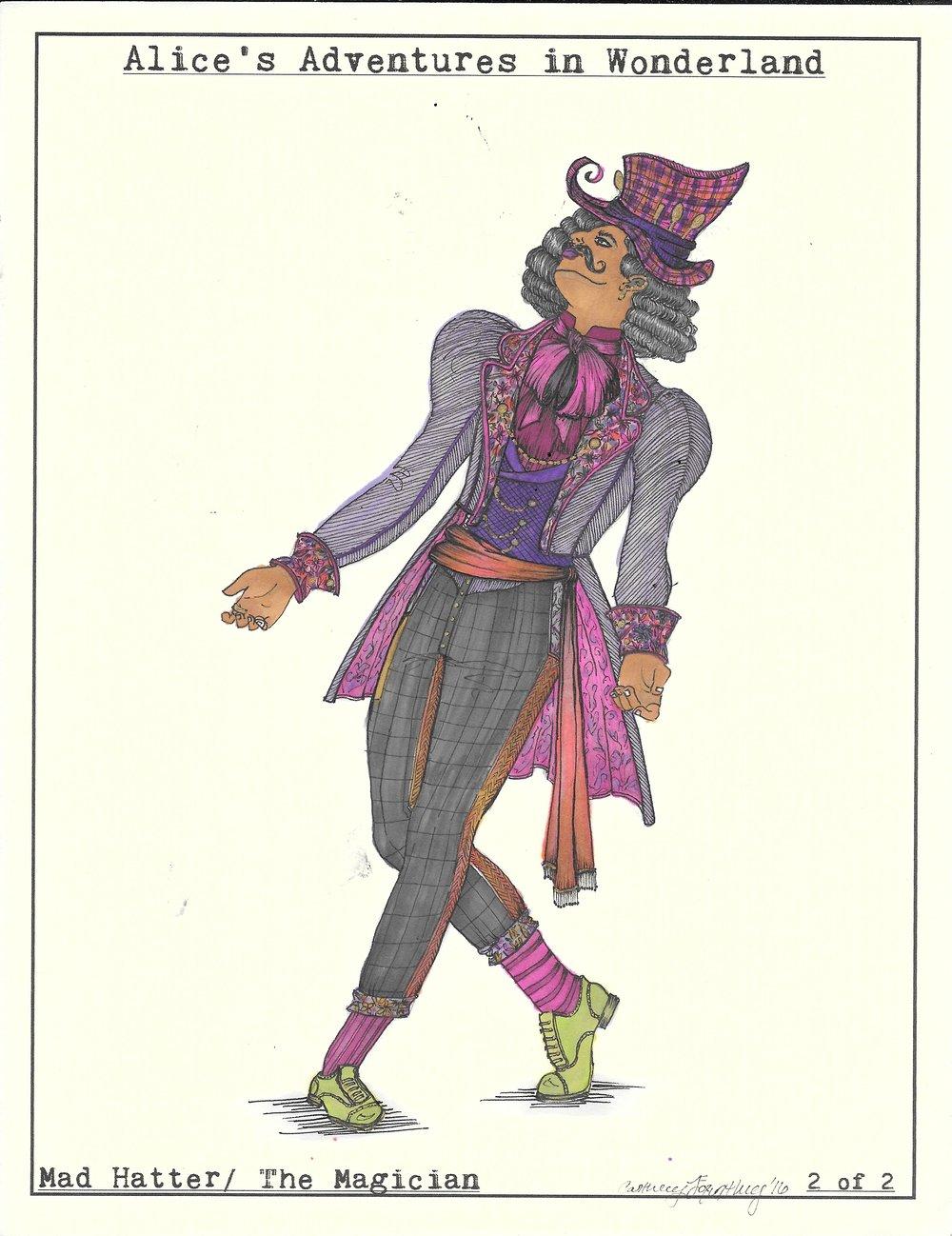 The Mad Hatter (Tap Dancer). Wonderland
