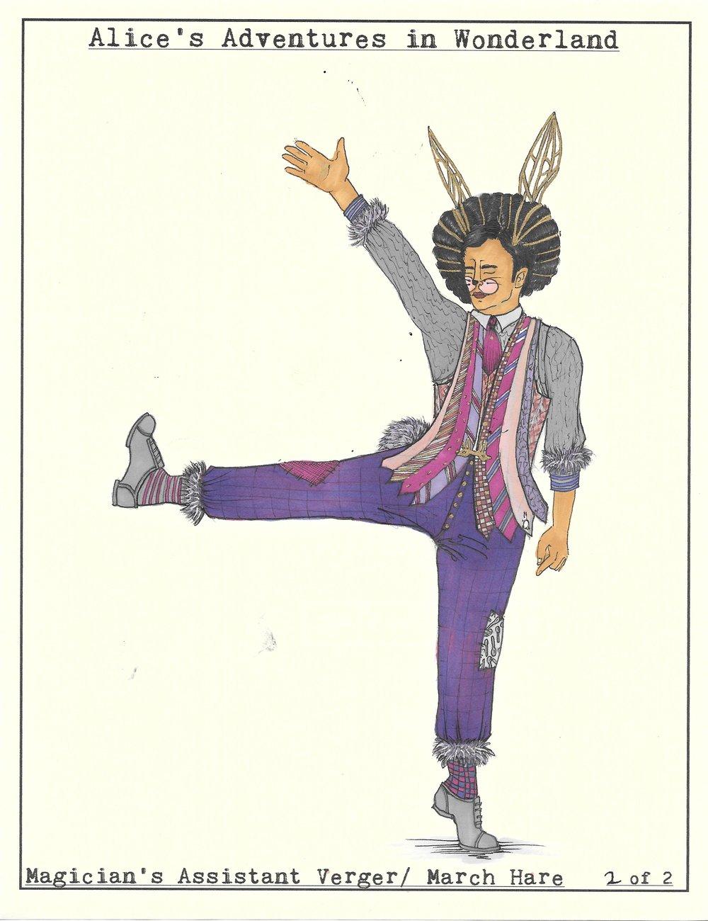 March Hare. Wonderland