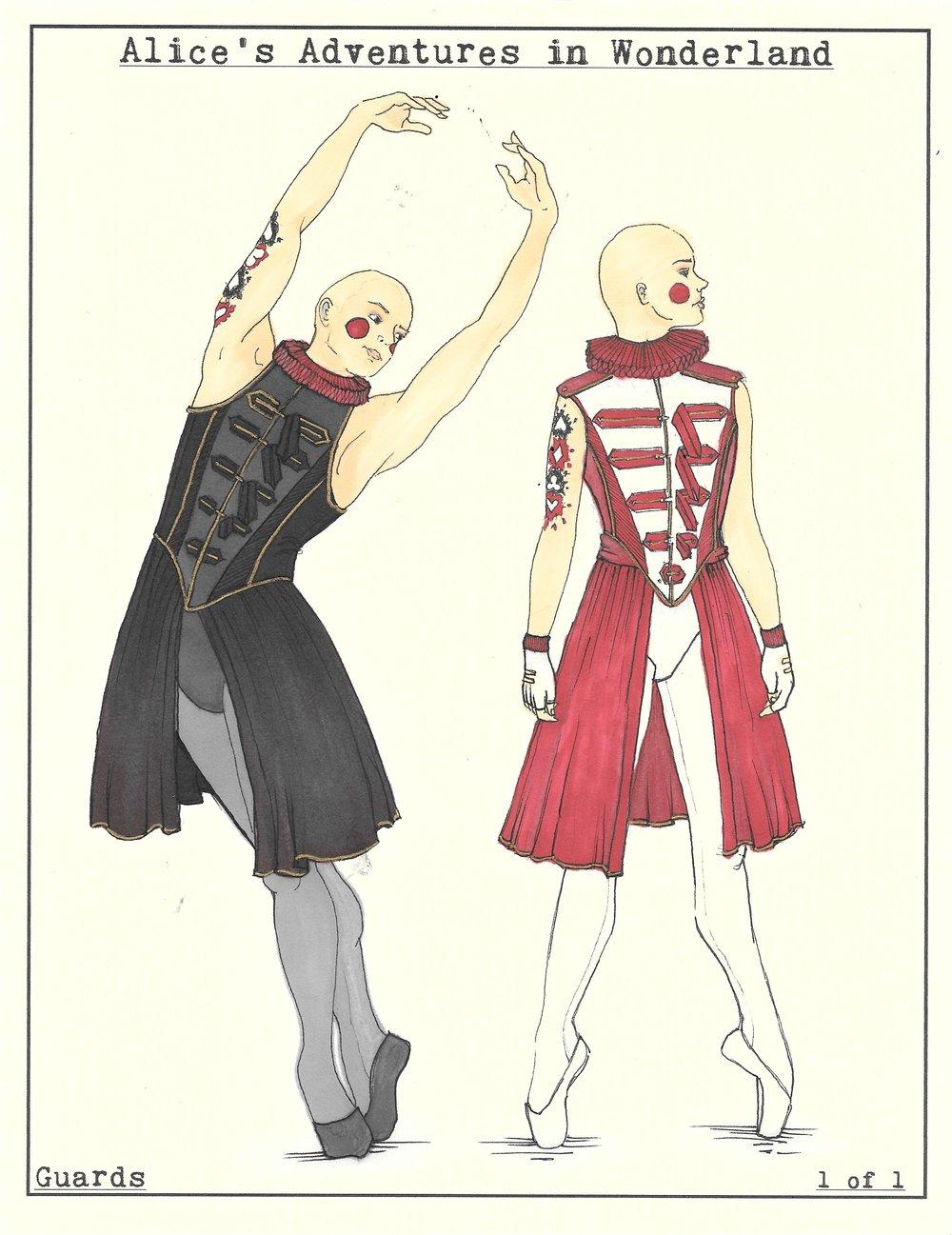 Guards. Wonderland