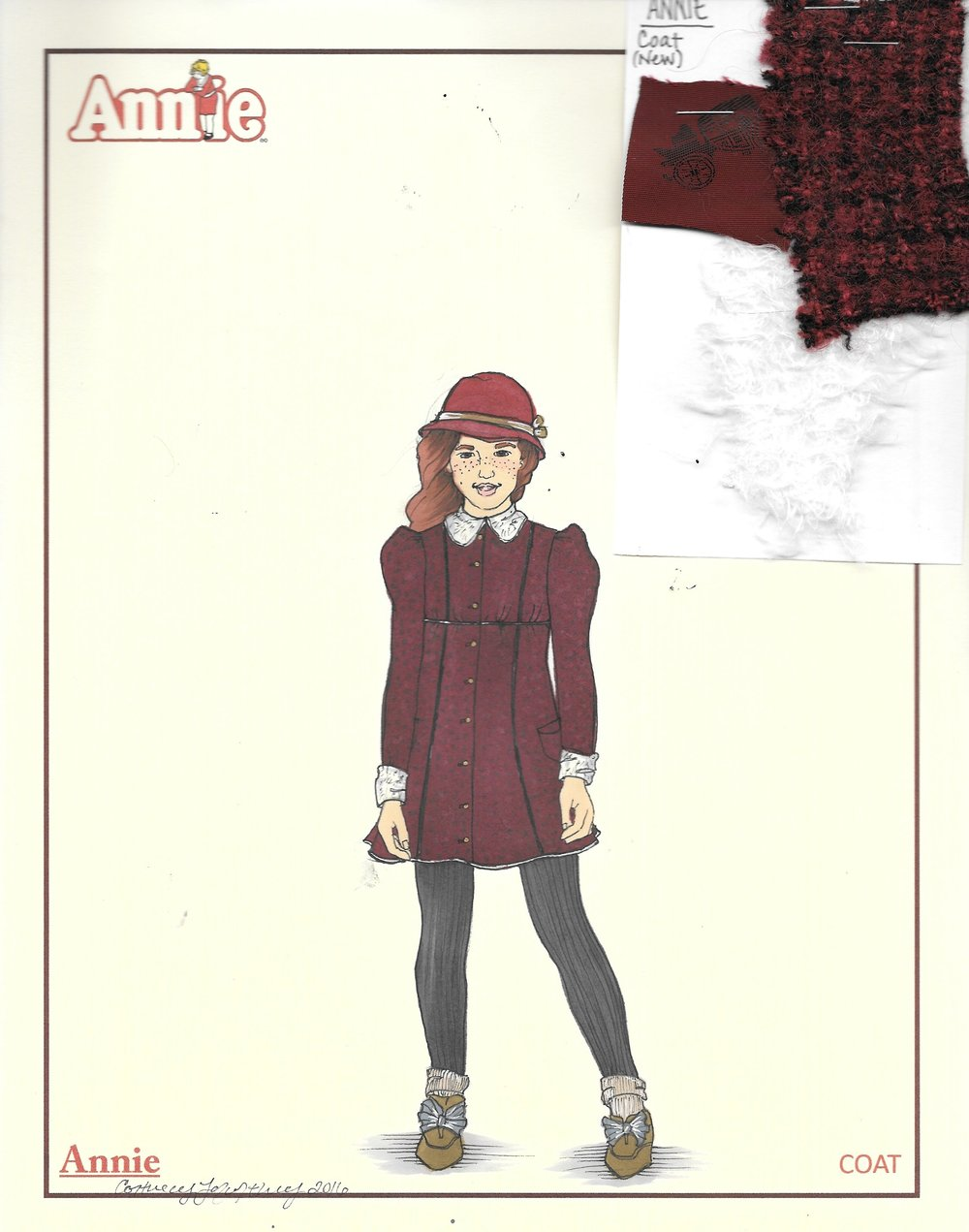 Annie coat research