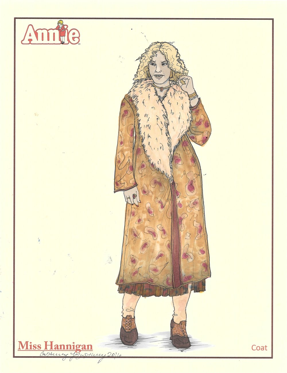 Miss Hannigan: Coat