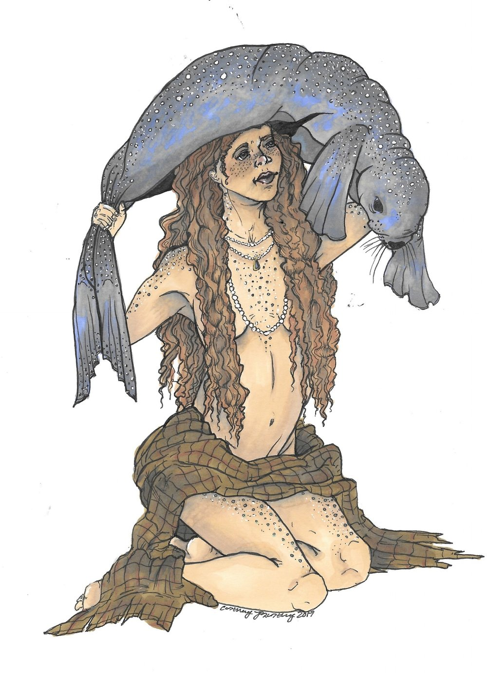 The Selkie from Northern European folklore