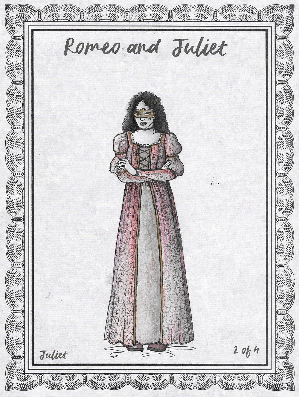 Juliet Masquerade Rendering