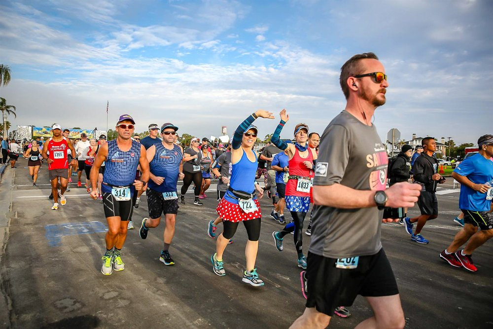event details for the silver strand half marathon and 5k silver