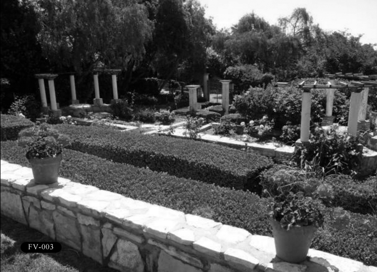 """FV-003: Frank Vanderlip Residence, """"The Cottage,"""" 99 Vanderlip Dr, Rancho Palos Verdes, CA 90275."""