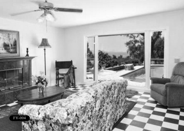 """FV-004: Frank Vanderlip Residence, """"The Cottage,"""" 99 Vanderlip Dr, Rancho Palos Verdes, CA 90275."""
