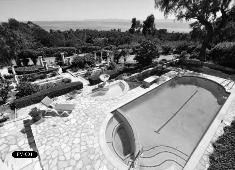 """FV-002: Frank Vanderlip Residence, """"The Cottage,"""" 99 Vanderlip Dr, Rancho Palos Verdes, CA 90275."""