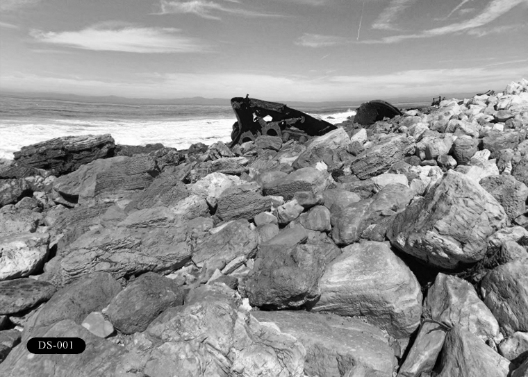 DS-001: SS Dominator Shipwreck. Located at Palos Verdes Point (VP), north of Lunada Bay (LB).