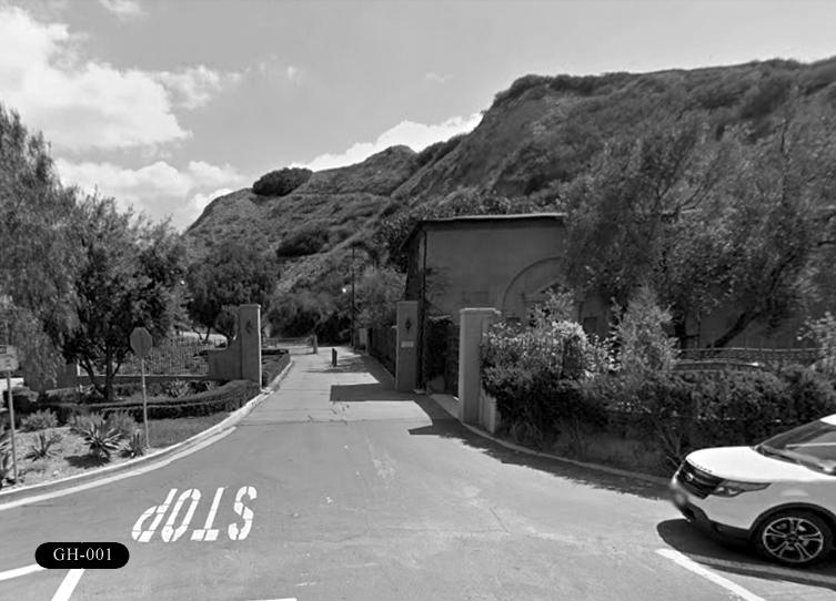 GH-001: Portuguese Bend Gate House, 1 Narcissa Dr, Rancho Palos Verdes, CA 90275.